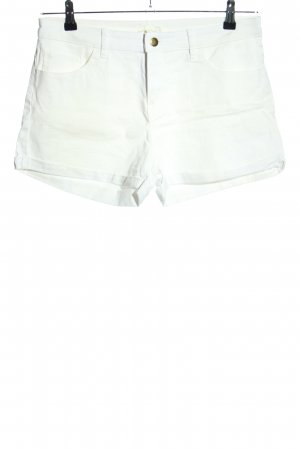H&M Jeansshorts weiß Casual-Look