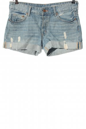 H&M Jeansowe szorty niebieski W stylu casual