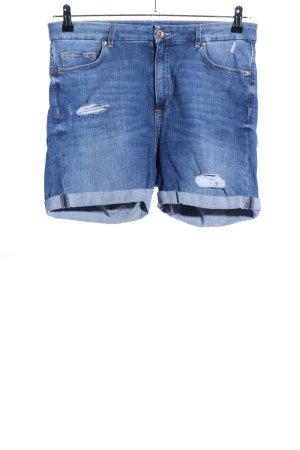 H&M Spijkershort blauw casual uitstraling