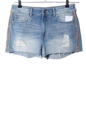 H&M Denim Shorts blue casual look