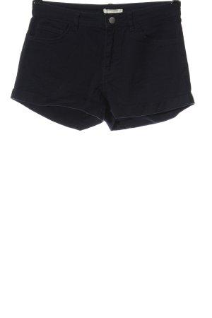 H&M Pantaloncino di jeans nero stile casual