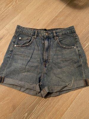 H&M Jeansshorts blau gr. 36