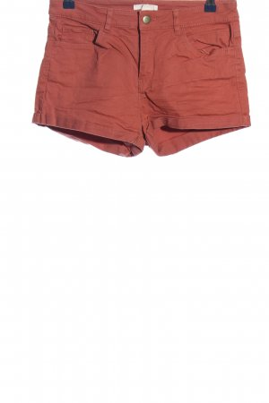 H&M Jeansshorts rot Casual-Look