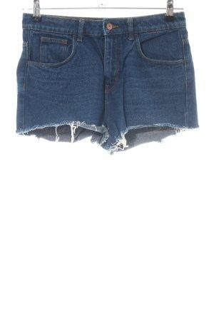 H&M Jeansshorts blau Casual-Look
