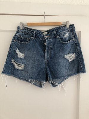 H&M Jeansshorts Destroyed