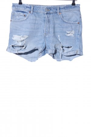 H&M Jeansshorts blau Casual Look