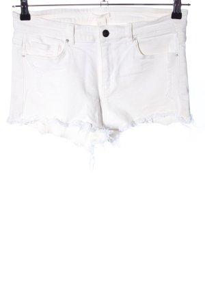 H&M Denim Shorts natural white casual look