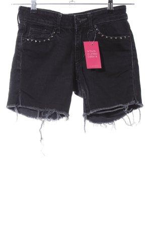 H&M Jeansshorts schwarz Casual Look