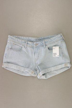 H&M Jeansshorts Größe 40 neu mit Etikett blau aus Baumwolle
