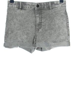 H&M Jeansshorts hellgrau Casual-Look