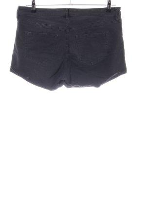 H&M Jeansshorts schwarz Casual-Look