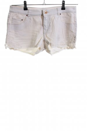 H&M Jeansshorts wollweiß Casual-Look