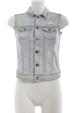 H&M Jeansweste blau Casual-Look