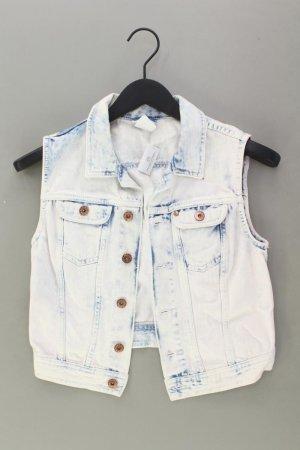 H&M Jeansweste Größe 38 blau aus Baumwolle