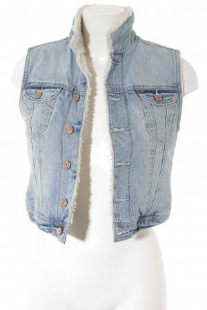 H&M Jeansweste himmelblau Casual-Look
