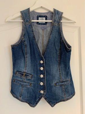 H&M Spijkervest blauw