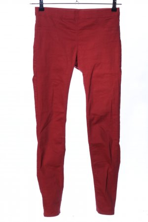 H&M Jeggings rot Casual-Look