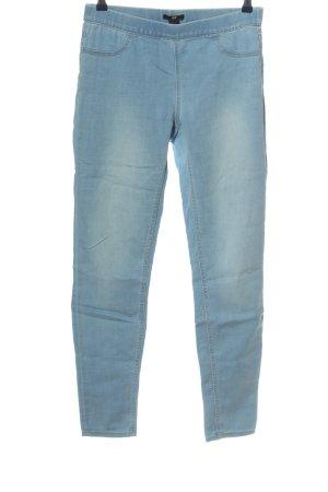 H&M Jeggings blau Casual-Look