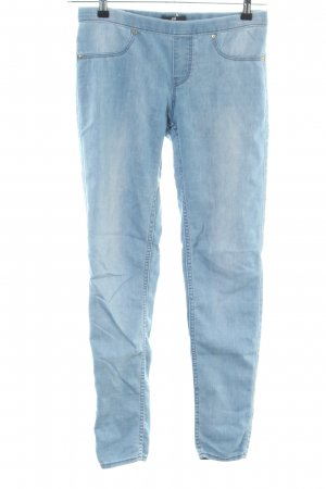 H&M Jeggings blau Casual-Look