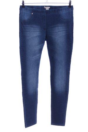 H&M Jeggings azul look casual