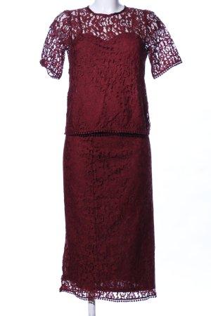 H&M Jersey Twin Set rot Elegant
