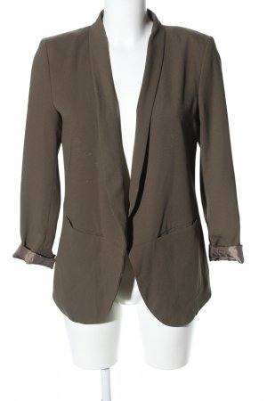 H&M Jerseyblazer khaki Business-Look