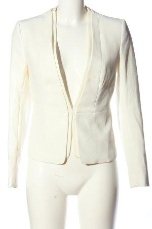 H&M Jerseyblazer weiß Casual-Look