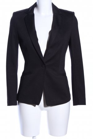 H&M Jerseyblazer schwarz Business-Look