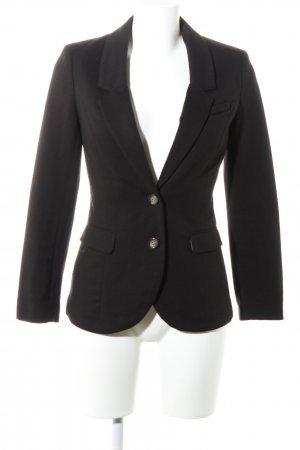 H&M Jerseyblazer schwarz-braun Business-Look