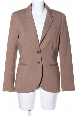 H&M Jerseyblazer braun meliert Business-Look