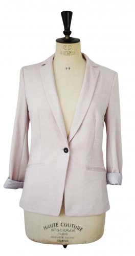 H&M Jerseyblazer creme Business-Look
