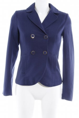 H&M Jerseyblazer dunkelblau Business-Look