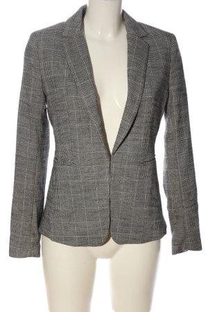 H&M Blazer in jersey grigio chiaro-nero stampa integrale stile casual