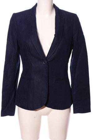 H&M Jerseyblazer blau Business-Look