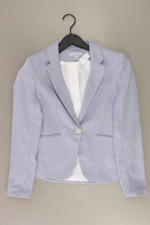 H&M Jerseyblazer Größe 36 neuwertig blau aus Polyester