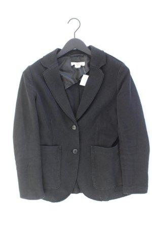 H&M Jerseyblazer Größe 42 schwarz aus Baumwolle
