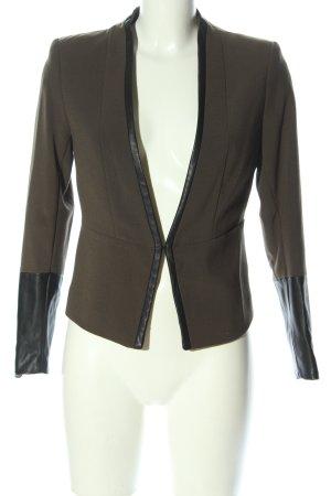 H&M Jersey Blazer khaki business style