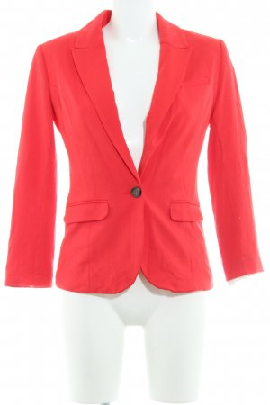 H&M Jerseyblazer rot Business-Look