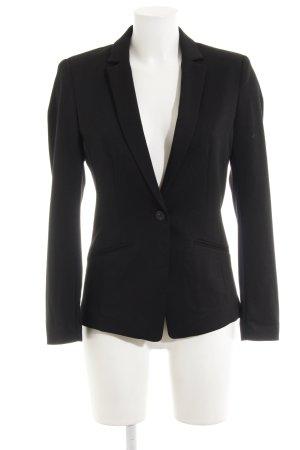 H&M Jerseyblazer schwarz Elegant