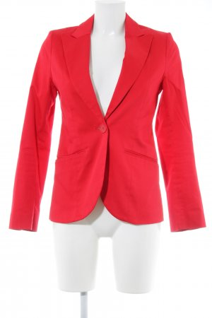 H&M Jersey Blazer brick red casual look