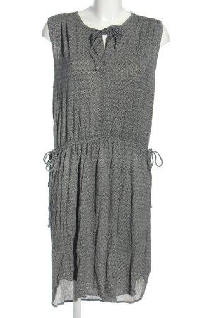 H&M Jerseykleid hellgrau Allover-Druck Casual-Look