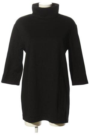 H&M Jerseykleid schwarz Casual-Look