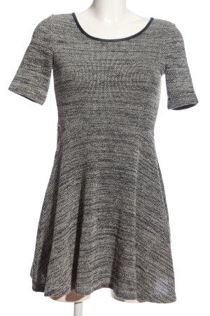 H&M Jerseykleid hellgrau meliert Casual-Look