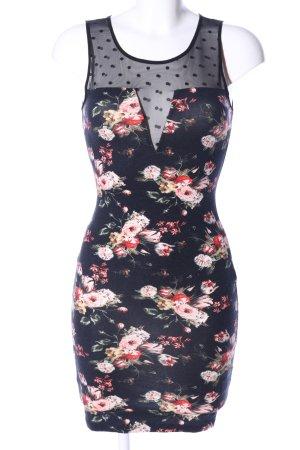 H&M Jerseykleid Allover-Druck Elegant