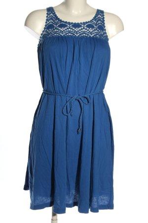 H&M Jerseykleid blau Elegant
