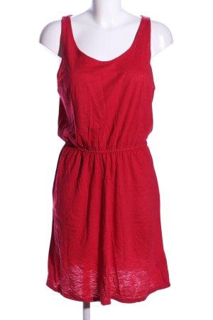 H&M Abito jersey rosso stile casual