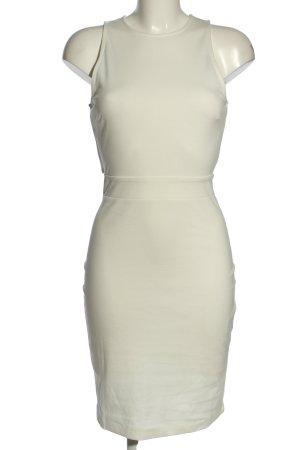 H&M Jerseykleid weiß Casual-Look