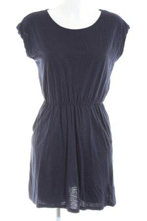 H&M Jerseykleid blau Casual-Look