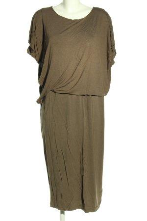 H&M Jerseykleid khaki Casual-Look