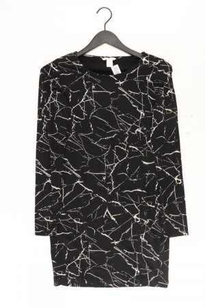 H&M Jerseykleid Größe S Langarm schwarz aus Baumwolle
